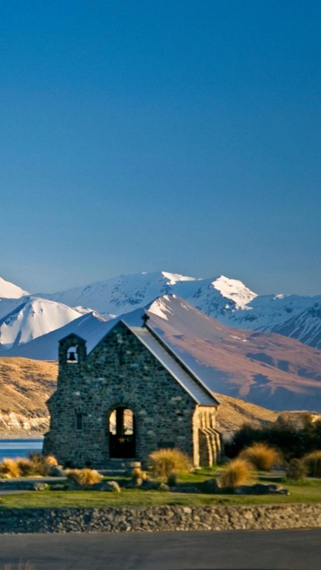 Church of the Good Shepherd, Lake Tekapo, Mackenzie Basin, South Island, New Zealand,
