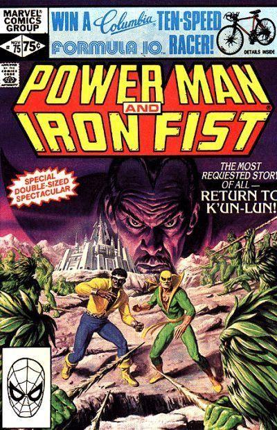powerman and iron fist comics