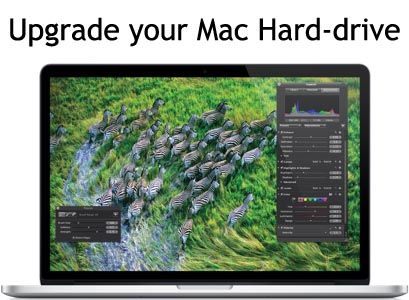 How to use a Mac - How to Upgrade your Macbook Pro Hard Drive