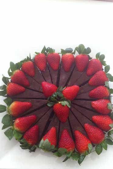 Loving Earth - Recipes - Raw Chocolate Tart