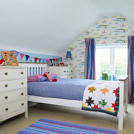 Small Kids Bedroom Design Nautical Bedroom Interior Design Art Deco Bedroom Furniture Kids Bunk Bed Bedroom: Traditional Children's Room Ideas