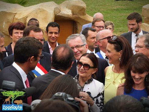 Le Président François Hollande était au ZooParc de Beauval pour son 35ème anniversaire