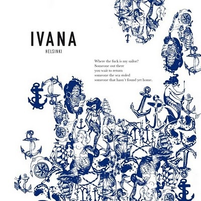 Spring 2011 from Ivana Helsinki. I love the detailing in this graphic.