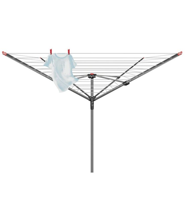 Buy Vileda 50m 4-Arm Ready to Use Outdoor Rotary Airer at Argos.co.uk - Your Online Shop for Washing lines and airers.