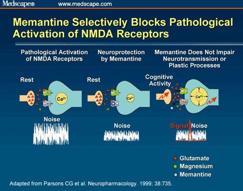 Memantine Works Not By Boosting Levels Of Acetylcholine