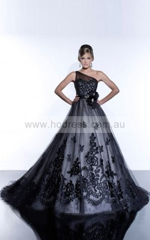 Ball Gown One Shoulder Natural Sleeveless Floor-length Wedding Dresses wcs0025--Hodress