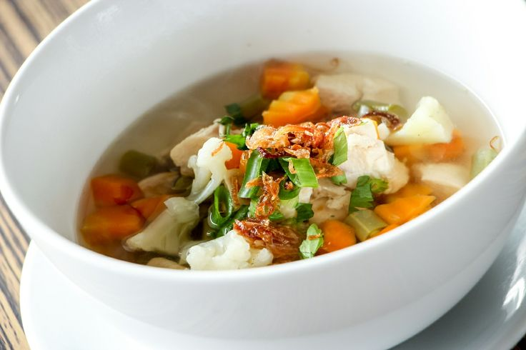 HiResStock » Premium and Free Hires Stock Photos for DesignerFree Hires Food: Chicken soup with vegetables #2 » HiResStock