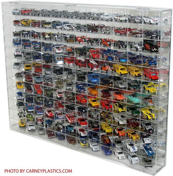 Hot Wheels Redline 144 CAR 1:64 Diecast Display Case #CarneyPlasticsInc #FitsHotWheelsJohnnyLightningplusManyMore