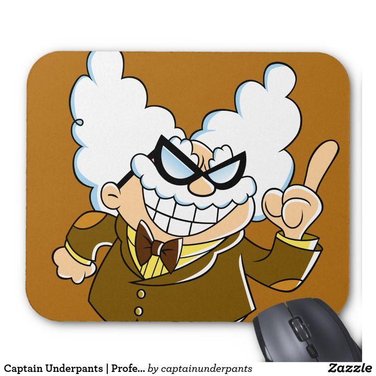Captain Underpants | Professor Poopypants. Producto disponible en tienda Zazzle. Tecnología. Product available in Zazzle store. Technology. Regalos, Gifts. #Mousepads