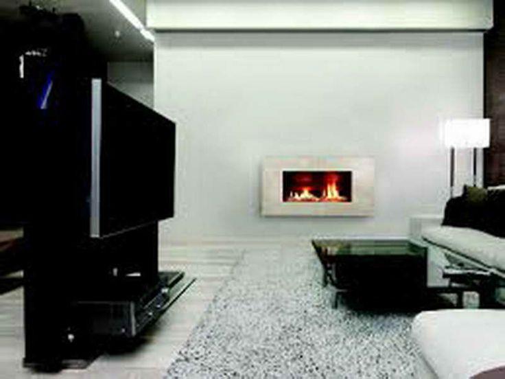 Modern Living Room Gas Wall Fireplaces Modern Http
