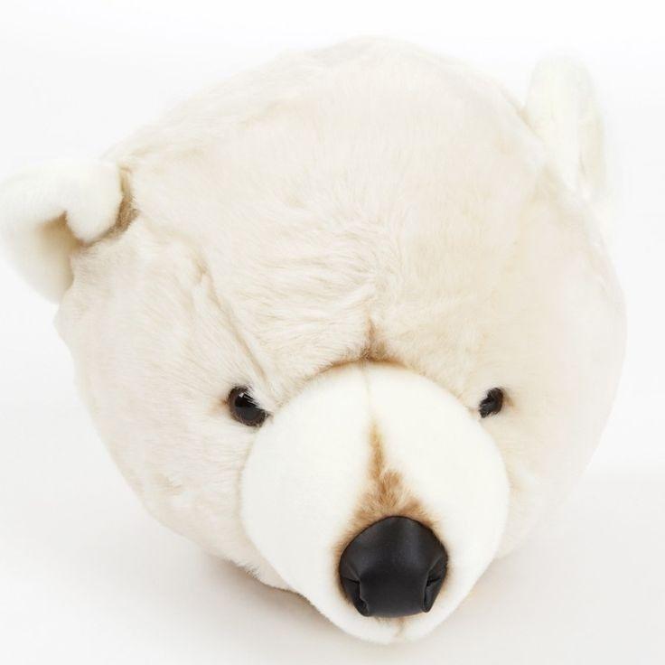 Brigbys dyretrofæ til børneværelse – Isbjørn - Tinga tango Designbutik