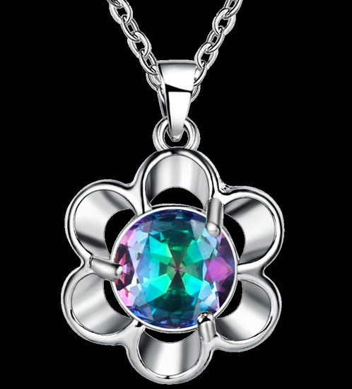 https://www.goedkopesieraden.net/925-Sterling-zilveren-ketting-met-bloem-en-luxe-gekleurde-steen