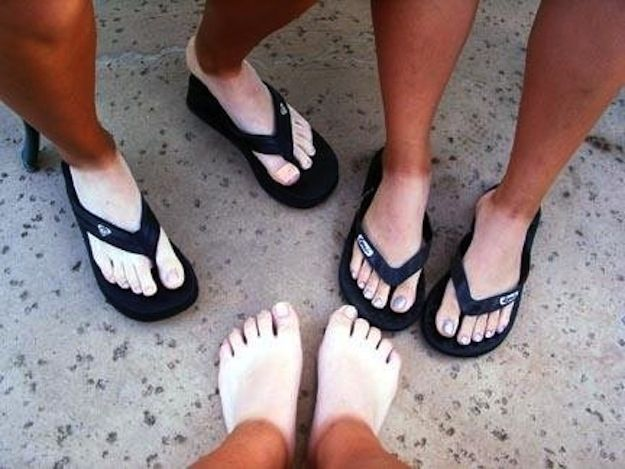 The awkward tan lines after an outdoor season. | 25 Things Only Track And Field Runners Can Understand