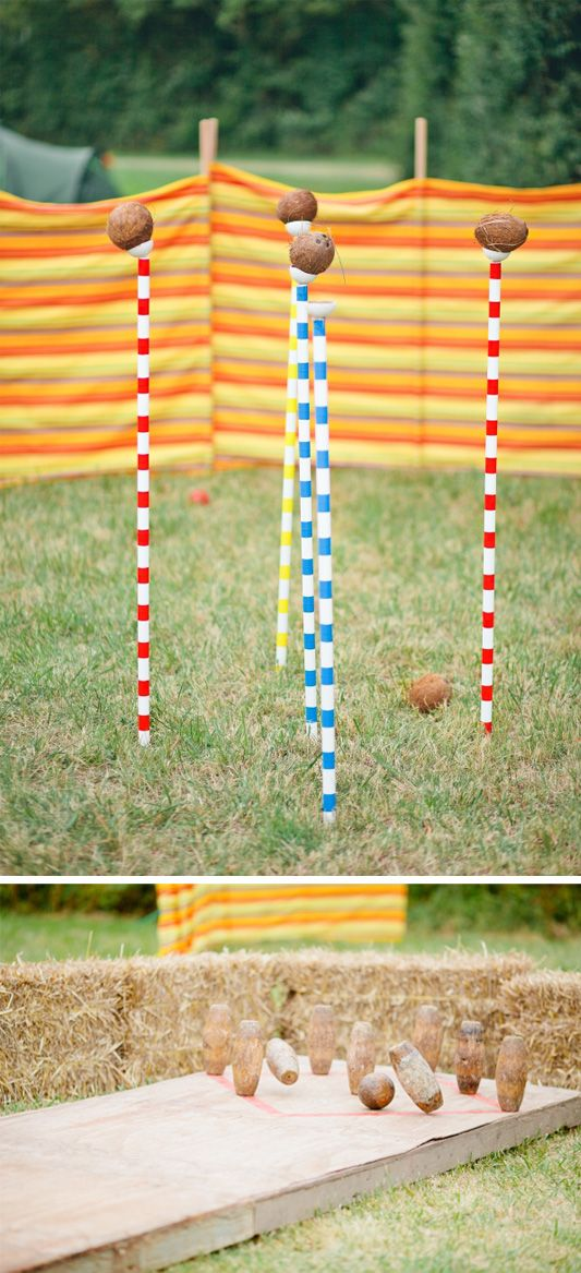 Homemade lawn games summer time fun pinterest for Garden design game