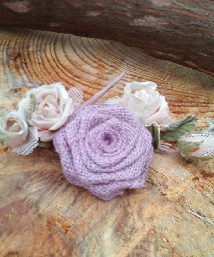 Set of 20 Lavender Burlap Flowers All Handmade    Rustic red burlap flowers ideal for wedding decoration or as an accessory for any special occasion.    Our Beautiful burlap roses are handmade    These flowers are a wonderful addition to your rustic wedding decorations they are so elegant!  Can also be used in your own home, attach them to a wreath or frame, head band, garter there uses are unlimited..    Can be ordered in smaller or larger quantities just contact us | Shop this product…