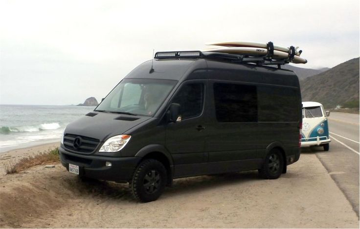 Rugged adventure vehicle van camper conversions for Mercedes benz camper van rental