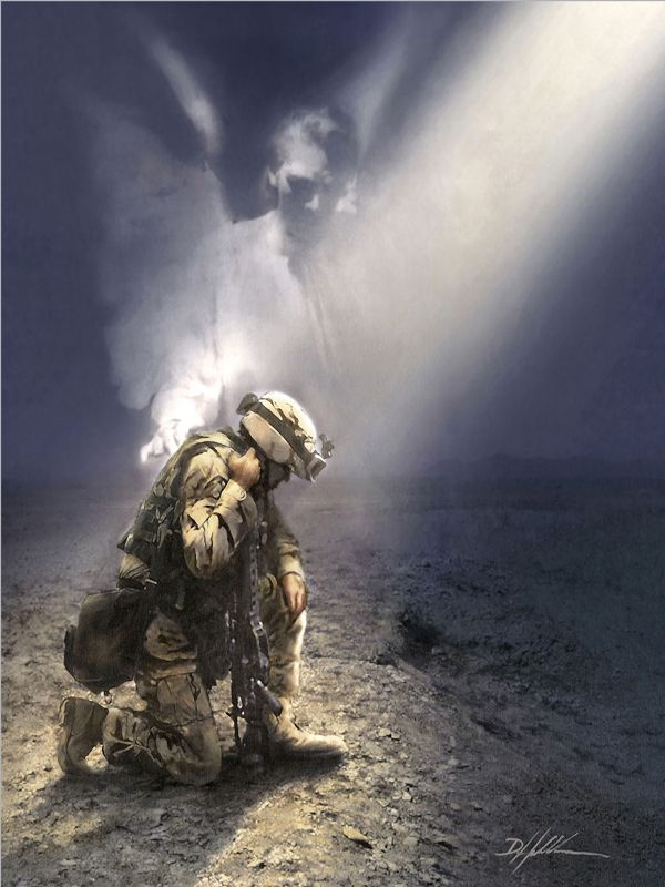 You Are Not Alone - American Heroes/ #War #Veterans #Angel #Nooneshouldhavetobealone