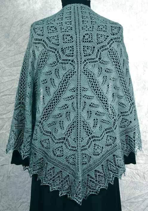 Love this shawl, I have knit several shawls by Fiddlesticks. This may have to be the next one.Fiddlesticks Knitting--Dorothy Siemens--Fern Glade