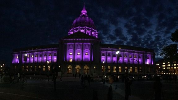 Monuments are lighting up purple to honor Prince | Latest News World