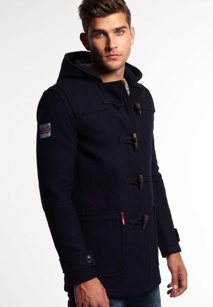 Manteau avec encolure en mouton homme