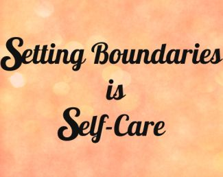 Setting Boundaries is Self-Care by SoAngieWrites.com