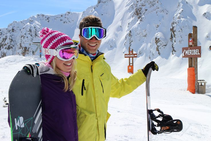 Short ski breaks with Skiweekends.com to Meribel, 3 Valleys France. #loveski #loveskiing #skiweekends