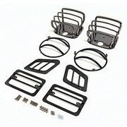Jeep Rugged Ridge Light Guards by Midwest Jeep Willys