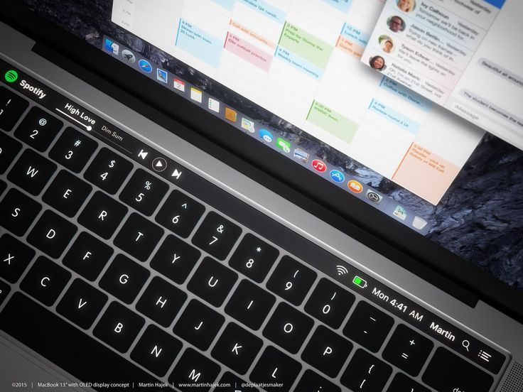 Apple has released a new MacBook with Touch Bar