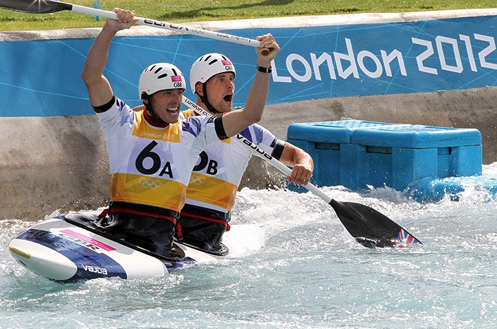 Team GB medals: David Florence and Richard Hounslow win silver in the men's canoe doubles