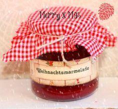 Weihnachtsmarmelade- Kirsch Marzipan