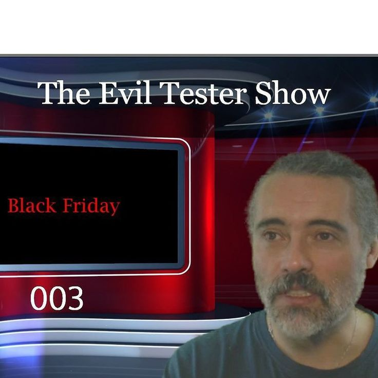 Released episode 3 of The Evil Tester Show podcast http://ift.tt/2hba0pp  I have always been fascinated with Confidence Men Grifters Tricksters. And all of that spills over into this Black Friday Special of The Evil Tester Show.