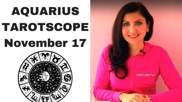 Aquarius November 2017 Tarotscope