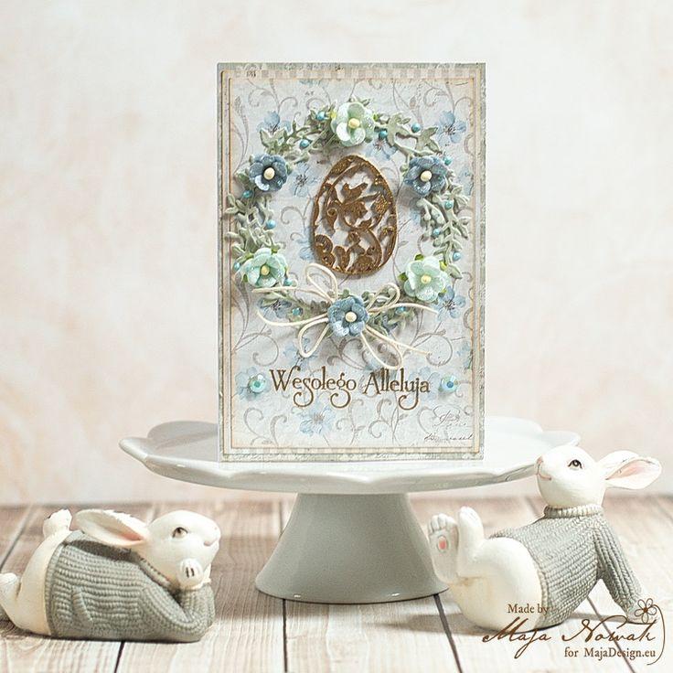 CraftHobby Oliwiaen: Easter Card. Kartka wielkanocna