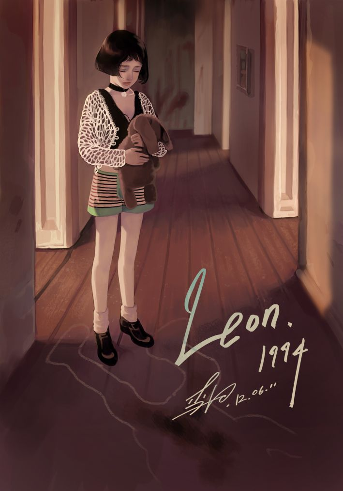Leon's Mathilda photostudy! I usually do not post photostudies here, but well, that's Mathilda! You can support me in making my indie comic, videos, tutorials and more here: www.patreon.com/KR0NPR1...