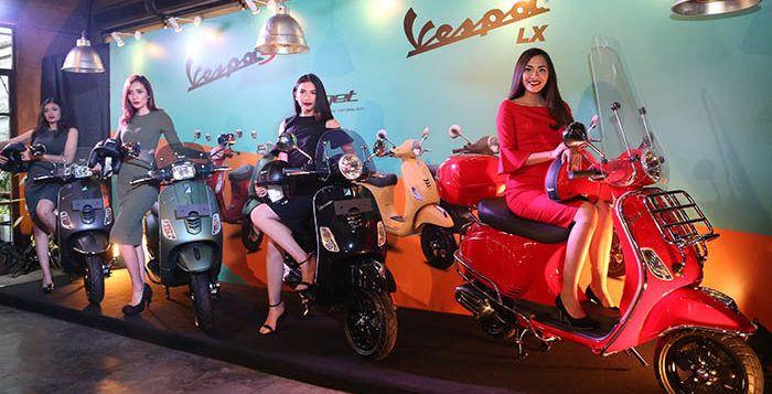 Spesifikasi Vespa S 125 dan Vespa LX 125 Indonesia 2017