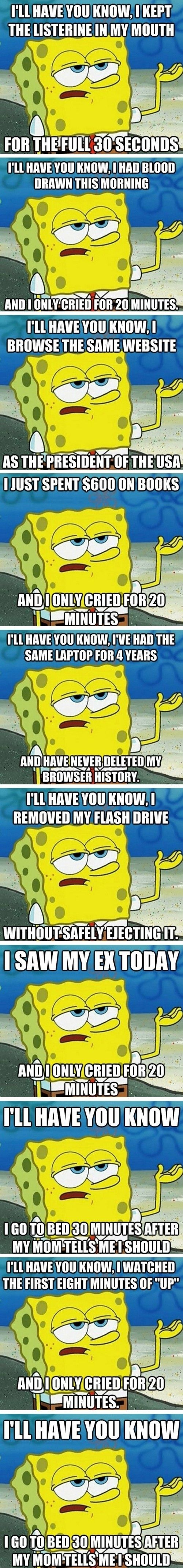 Tough Guy Spongebob  - funny pictures #funnypictures