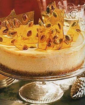 Pistachio brittle cheesecake | Recipes | Pinterest