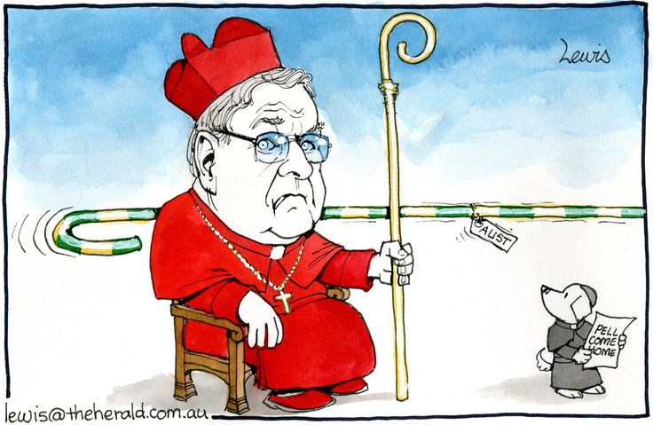 Calls for Cardinal George Pell to return to Australia to face the Royal Commission.