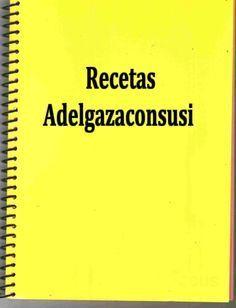 Recetas Light - Adelgazaconsusi: Índice Recetas Ligeras y Light