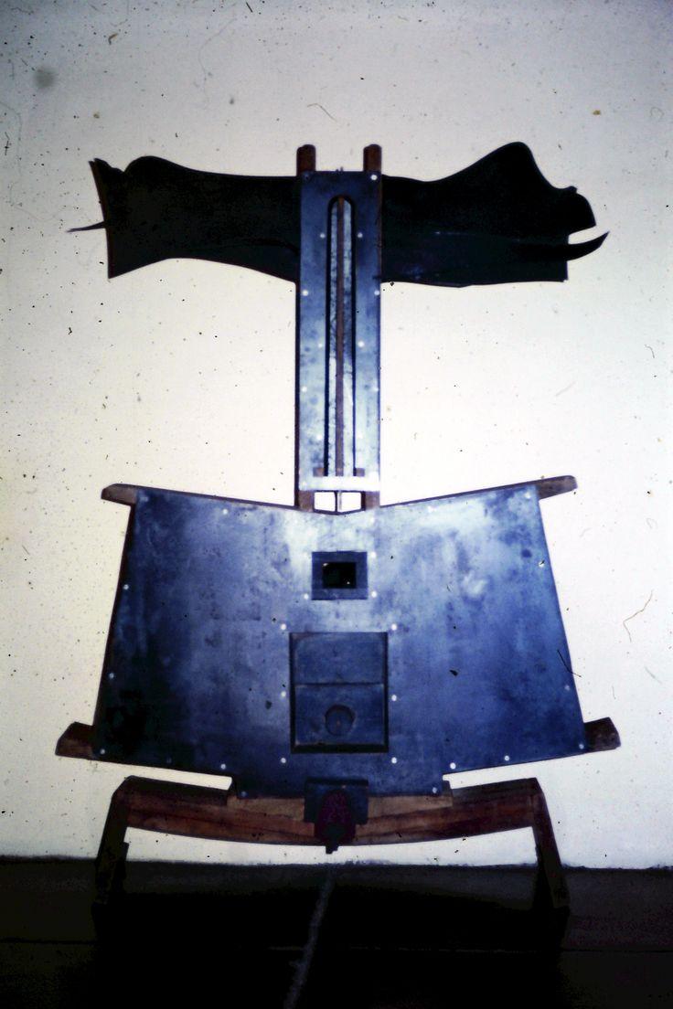 War Lord - steel + wood