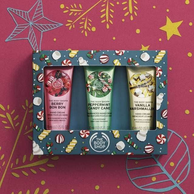 The Body Shop Festive Hand Cream Trio
