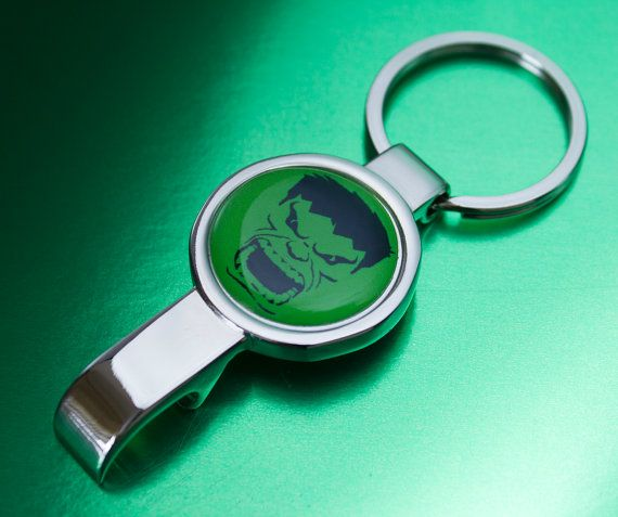 Cool Hulk Bottle Opener Keyring by UnofficiallyOriginal on Etsy