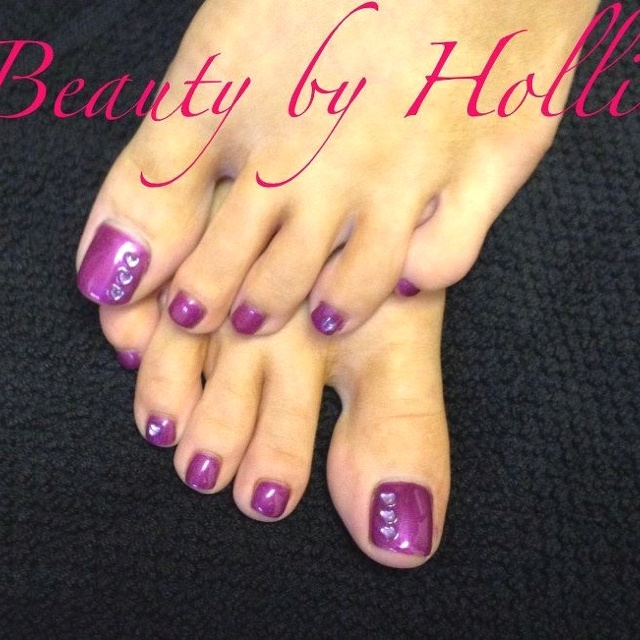 Gelish pedicure & nail art