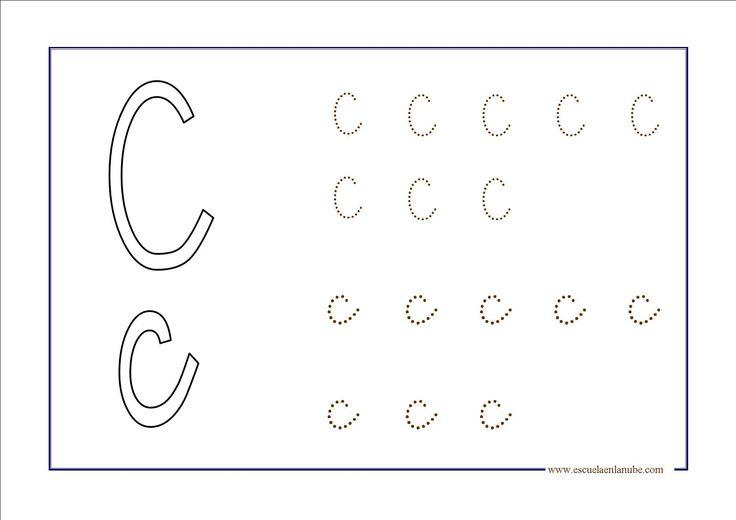 Recursos para el aula: Fichas de lectoescritura Trabaja la lectoescritura con las letras del abecedario, una manera facil de mejorar