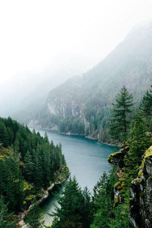 North Cascades and Diablo Lake, Washington