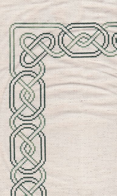 Celtic border cross stitch