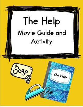 The Help includes: Fun movie questions and activities about the movie. Buy the document and choose the ativities you want to use #help #blackhisoty #black #history #activities #moviequestions #movie #questions