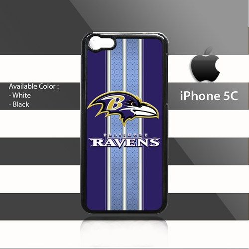 Baltimore Ravens Patterns Stripes iPhone 5c Rubber Case Cover