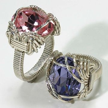 Wire Jewelry Free Patterns | Ring Wire Wrap Class - Afternoon - Bead Lovers and Jewelry Classes ...