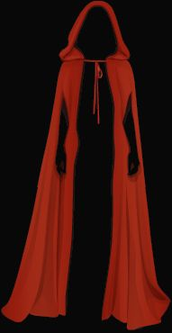 hood pattern | Exotic-Stardoll: Free Red Riding Hood Cloak